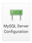 MySQL server configuration